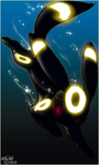 .:Umbreon:. by WhiteSpiritWolf