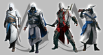 Assassin's Creed: Alternative Outfits by JFaron