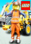 digital : Lego construction man 2014 by darshan2good