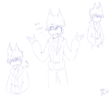 [Eddsworld] Tord Sketches (? by HuiRou
