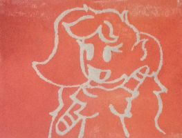 Abby Paintbrush Stencil Thing by ShinySmeargle