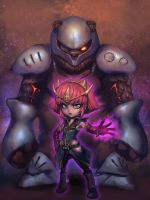 High Command Annie by ptcrow