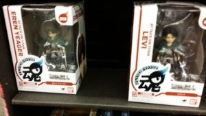 Eren and Levi Action Figures by SmoothCriminalGirl16