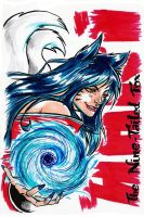 League of Legends - Ahri by ElectroCereal