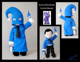 Insane Cultist plushie by Eyes5