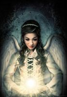 Angel of Light by elanordh by Realm-of-Fantasy