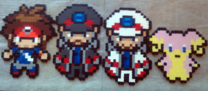 Bead Sprites 6/24 by yellowcoatrobot