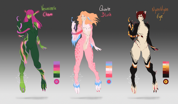 Guest design Secati adoptables (CLOSED) by InduSfera
