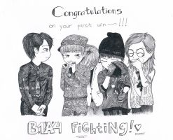 B1A4's First Win: CONGRATULATIONS~ by NishiMiyaHiruka