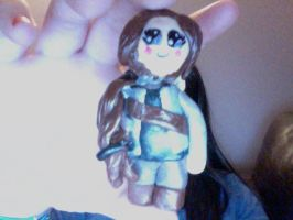 Clay Katniss Inspired by pinksugarcotton by muffinthehamster11