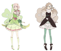[CLOSED!] Clover and Cotton Adopts by Nao-Yan