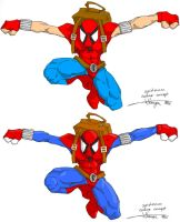 Spiderman constume concept by jut754