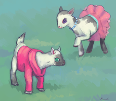 Fashion Goats by StapledSlut