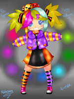Rin Kagamine-Happy Halloween by Nite3007
