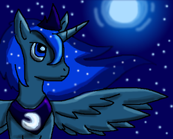 :Trade: Moonlit Princess Luna by Hallu-Positronium