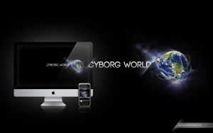 Cyborg World Wallpaper by Tyzyano