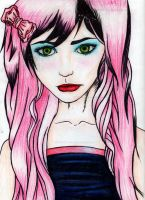 Pink Girl by lexicalsanctuary