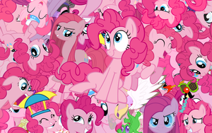 Pinkie Pie explosion wallpaper by Starlyk