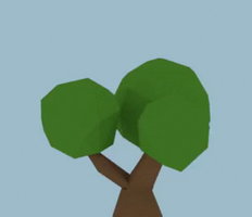 Low Poly Bush by Zectric