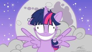 Crazy Alicorn Twilight Sparkle by lazcreations