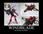 Windblade Poster by Onikage108