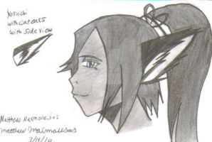 Yoruichi with kittyears scan by gamemaster8910