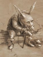 Old Rabbit - Sketch by JoseAlvesSilva