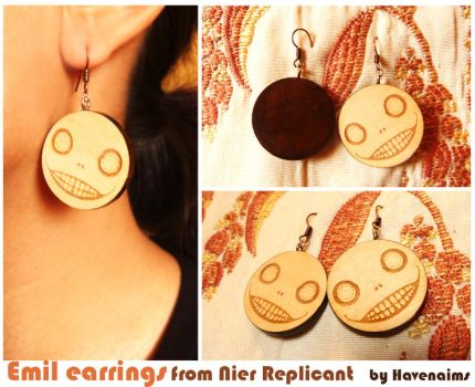 Emil Earrings from Nier Replicant by Havenaims