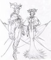 Lady Lilith and Lord Leyak by Naerko