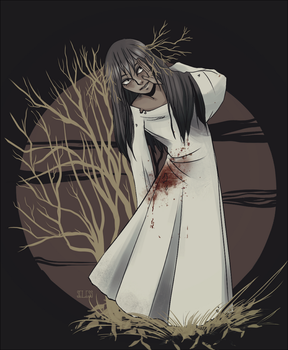 Forest girl by Seless