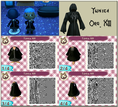 QR Animal Crossing New Leaf: Tunica Org. XIII by One-Eco