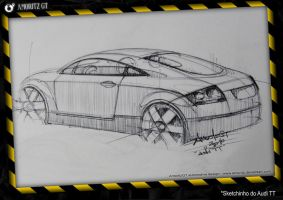 Audi TT sketch for fun by Amoritz