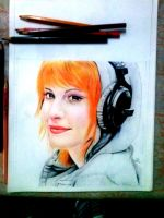 Hayley Williams by deadcrozz