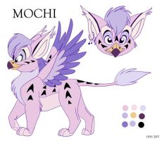 reference: Mochi by VixieArts