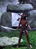 Cernunos WIP - now DOA by Trish2