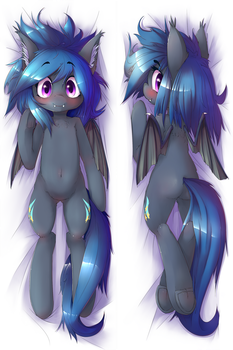 Commission: Dakimakura OC design (preview) by t-Hoodie