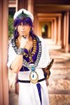 Sinbad - Magi The Labyrinth of Magic (Cosplay) by Elffi