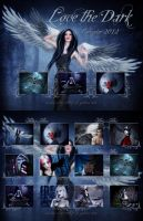 Love The Dark Calendar 2012 by dianar87