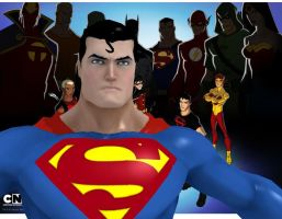 DCU Superman MMD (needs rigging) by ultimate44