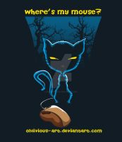 wheres my mouse by oblivious-art
