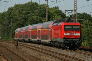 Pushed by a class 112 by Budeltier
