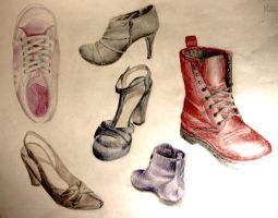 Schoolwork-chaussures by DirtyPlasticSpoon