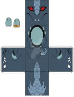 Papercraft griphass by Japandragon
