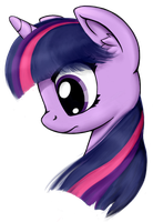 Portrait - Twilight Sparkle by Revealdance19