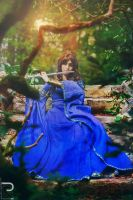 Lady Avalon - in memory of Taliesin by Elyra-Coacalina