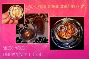 Sailor Moon Custom Locket by MoonLitNostalgia