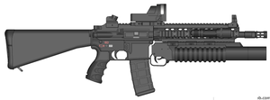 4th assault rifle by COLT731