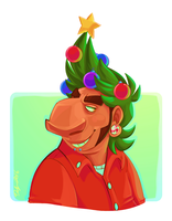 Ugly Christmas Hair by delSHARK