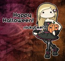 Happy Halloween by NickyToons