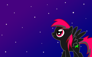 (OC) Neon Star by keeveew
